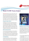 412 NIR Process Analyzer Spectrometer Brochure