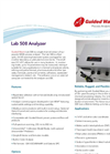 Lab 508 UV/VIS Analyzer Brochure