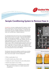 Sample Conditioning System To Remove Haze in Fuel Brochure