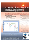 Model SM Series - Full Range Photodiode Array InGaAs / Si Laboratory Spectrometers - Brochure