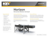 Horizontal Motion Feed Conveyors Brochure