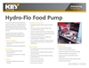Food Pumping System Brochure