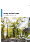 Drying technology for sewage sludge