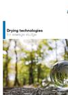 Drying technology for sewage sludge
