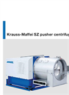 Krauss-Maffei - Model SZ - Pusher Centrifuge - Brochure
