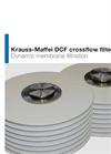 Krauss-Maffei DCF Dynamic Crossflow Filter - Brochure