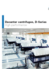 D-Series - Decanter Centrifuges - Brochure