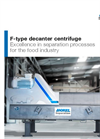 F-Type - Decanter Centrifuges - Brochure