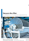 Andritz - Model Stardisc - Vacuum Disc Filter - Brochure