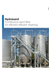 Hydrasand - Continuous Sand Filter for Efficient Effluent Cleaning - Brochure