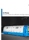 C-Press Screw Press for Efficient Sludge Dewatering - Brochure