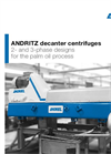 Andritz Decanter Centrifuges for the Palm Oil Process - Brochure