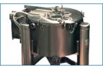 Model Flip-Top - Vertical Peeler Centrifuge