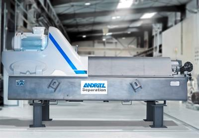Andritz - Model F-Type - Decanter Centrifuges