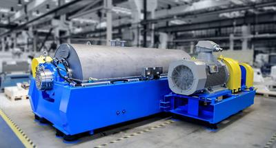 ANDRITZ Aqua-Screen - Model ACZ - Decanter Centrifuge for Efficient Plastic Recycling