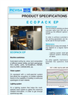Ecoglass - Model EPEG1000 - Optical Sorter – Brochure