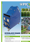 Ecoglass - Model EG-600 & EG-1000 - Glass Sorting Machine Brochure