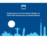 Global Event Turns the World 'UN Blue' to Mark 70th Anniversary of United Nations