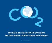 The EU is on Track to Cut Emissions by 23% before COP21 States New Report