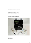 DelAgua Single Incubator Plus Kit Manual