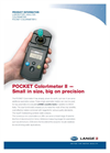 Hach Lange Pocket Colorimeter II Manganese High Range 1 Manual