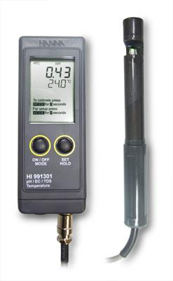 Hanna Instruments - Model HI-991301N  - High Range EC, TDS, pH and °C
