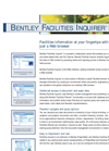 Bentley Facilities Manager Brochure