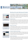 Bentley PowerRebar Brochure