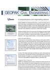 GEOPAK Civil Engineering Suite