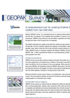 GEOPAK Survey Brochure