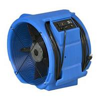 Abatement Technologies - Model RAM3000DBL - Raptor Axial Air Mover - Blue (Deluxe)