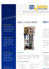 ADVANCEES - SWRO SSW 1.3 to 8.0 KGPD - Small Desalination System - Datasheet