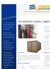 ADVANCEES - SWRO MEDIUM - DESALINATION CONTAINERIZED 100.000 GPD - TURBO DATASHEET