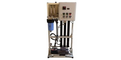 AESINC - Model SSW 300 to 1800 GPD - Custom Skid-Mounted Water Purification System