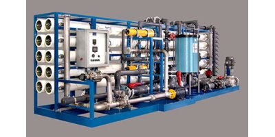 Land Base - Model PX SW - Reverse Osmosis Systems For Seawater Desalination