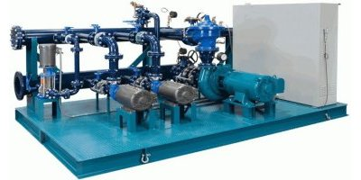 AESINC - Model PS Series - Water Pump Skids