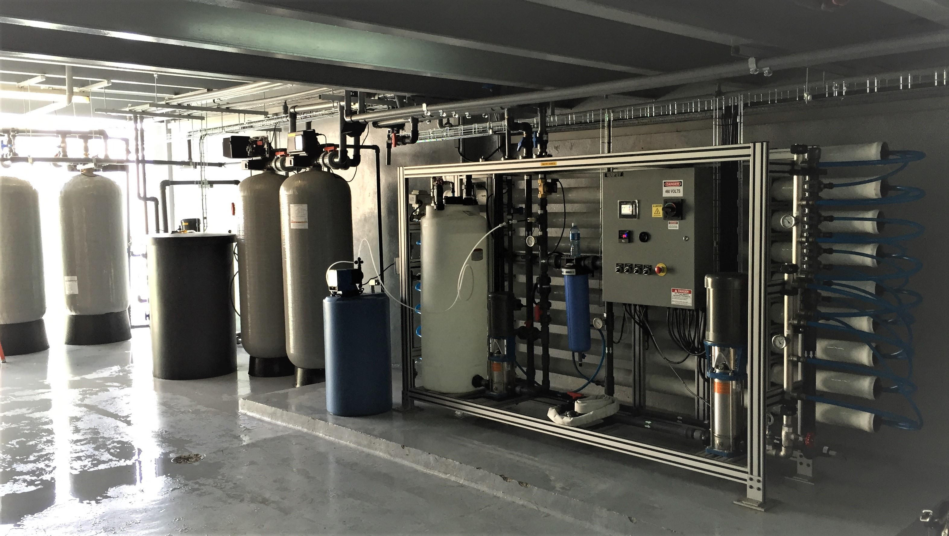 ADVANCEES - Model From 10.000 US GPD - Medium & Large Seawater Reverse Osmosis systems – Land Base
