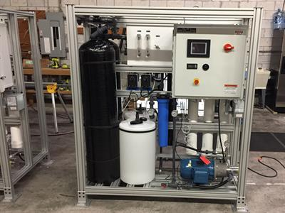 Small Seawater Systems Land Base Desalination System-2