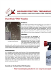 Model TKO - Dust Wash Housekeeping Nozzles Brochure