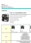 Channel Wall Mount Controller CP-60 1, 2 or 3 Brochure