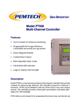 Model PT500 - Multi-Channel Gas Controller Brochure