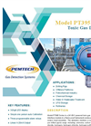 PemTech - Model PT395 Series - 24 VDC Powered Toxic Gas Detector - Datasheet