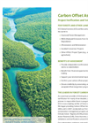 Forest & Land Use Carbon Offset Verification Brochure