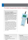 Aysix - A6-IIG-3150 - Portable  Suspended Solids Analyzer Datasheet
