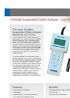 Aysix - A6-IIG-3150L - Portable  Suspended Solids Analyzer Datasheet