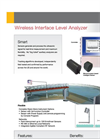Aysix EchoSmart - Wireless Interface Level Analyzer Datasheet