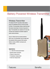 RF Wireless Battery Powered Datasheet