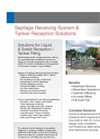 Septage Receiving System & Tanker Reception Solutions Brochure