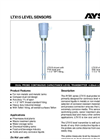 Aysix - LTX15 Series - Dual Probe Continuous Capacitance Level Transmitter 4-20ma Loop Powered Brochure