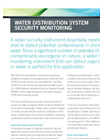 Water Distribution System Security Monitoring Application Note